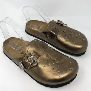 Birkenstock Betula Rocko Metallic Rhinestone Shoes